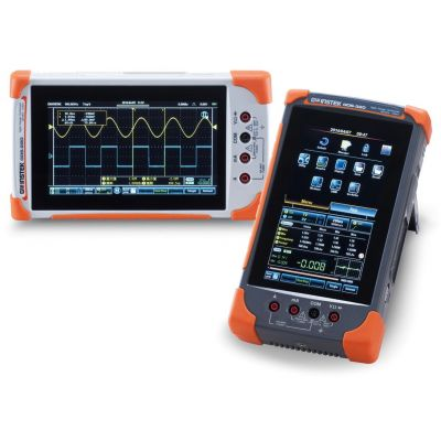 GDS-220 GW Instek Digital Oscilloscope, 2 channel, 200MHz, Handheld Touch Screen