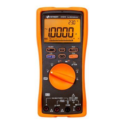 U1241C U1241C - DMM Handheld, 2kHz, True RMS 10,000 Count
