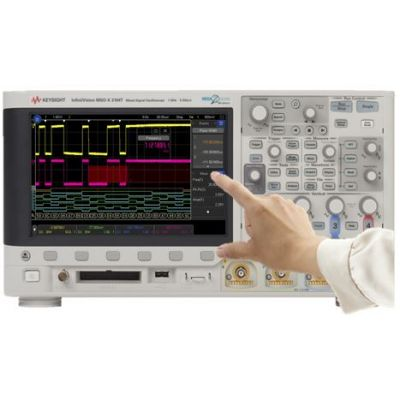 MSOX3052T Mixed Signal Oscilloscope: 500 MHz, 2 Analog Plus 16 Digital Channels