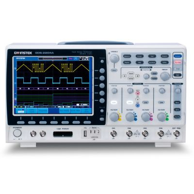 GDS-2072A GW Instek Digital Oscilloscope, 70MHz, 2 Channel, Colour LCD Display