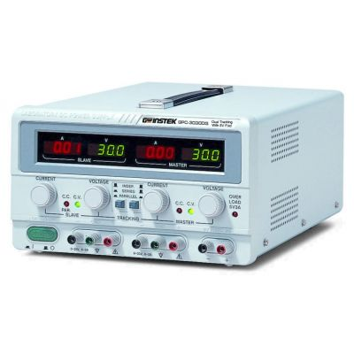 GPC-3030DQ GW Instek 195W, 3-Channel, Linear D.C. Power Supply