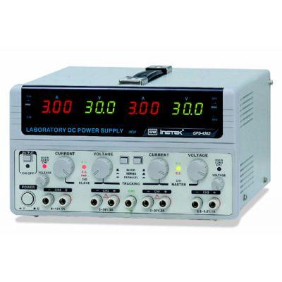 GPS-4303 GW Instek Basic DC Multi-Output, 4 Ch, 2 x 30V/3A, 1 x 2.2~5.2V/1A, 1 x 8~15V/1A