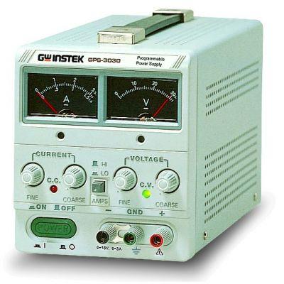 GPS-3030 GW Instek 90W Linear D.C. Power Supply, Analog Display 90W, 0 ~ 30V, 0 ~ 3A