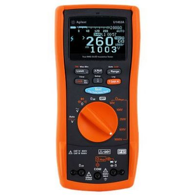 U1453A U1453A Insulation Resistance Tester, OLED Display, 50V to 1kV